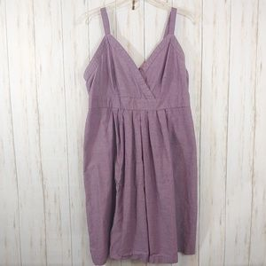 Merona Dresses - MERONA Purple Summer Sun Dress Plus Size XXL